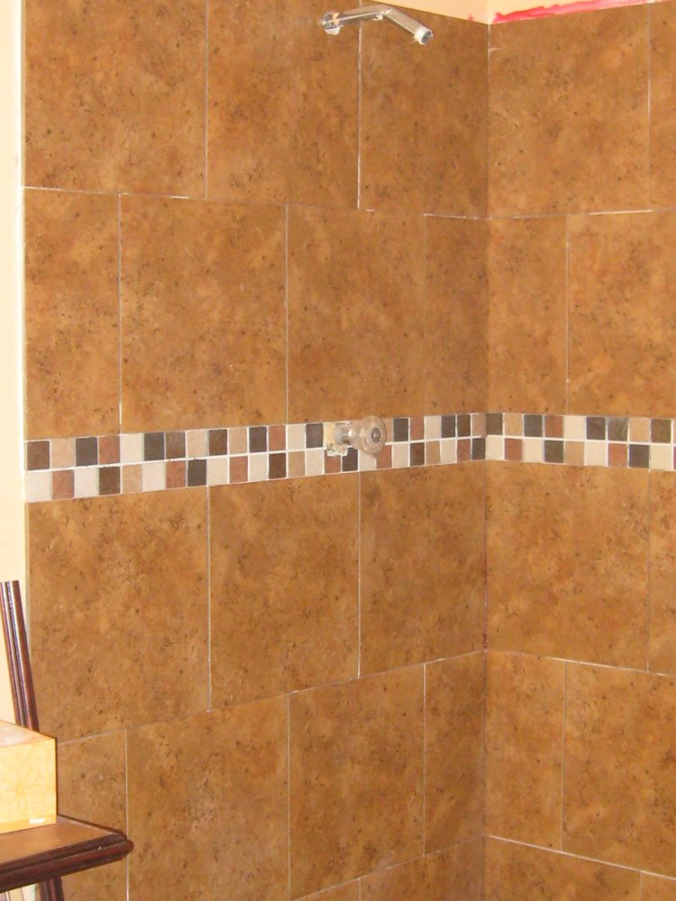 Caulk Or Grout First For Tiles On Shower Walls