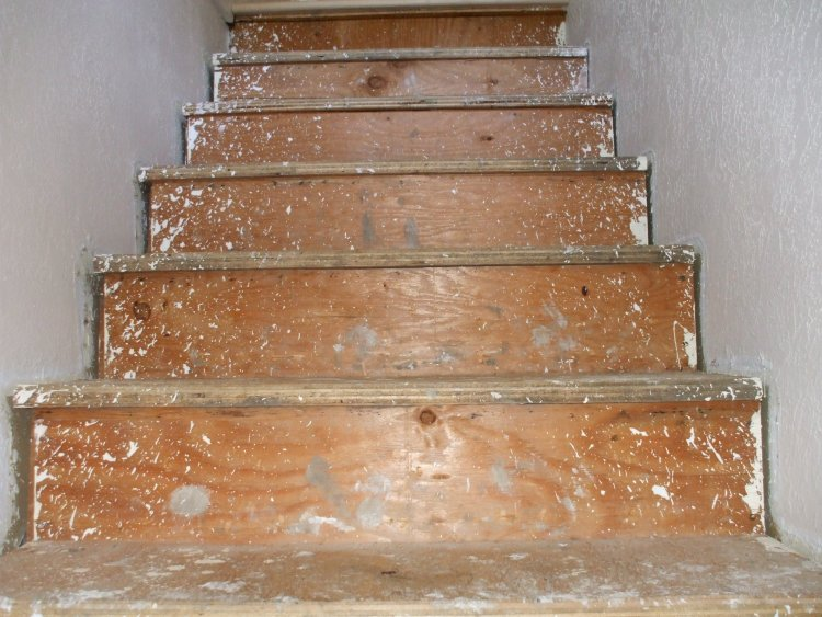 Replacing Carpeted Stairs With Wood Treads