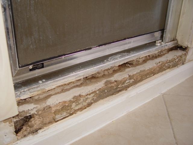 Cement Board Shower