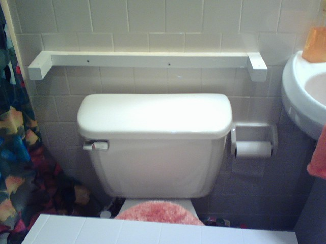 What Can I Use As A Table Over My Toilet Since There Is No
