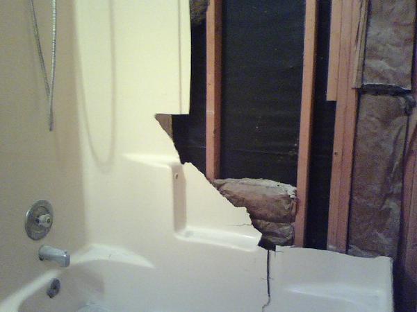 Replacing Fiberglass To Tile Shower