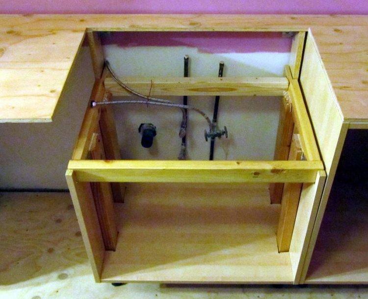 Mounting A Farmhouse Sink : Farmhouse sink flush mount