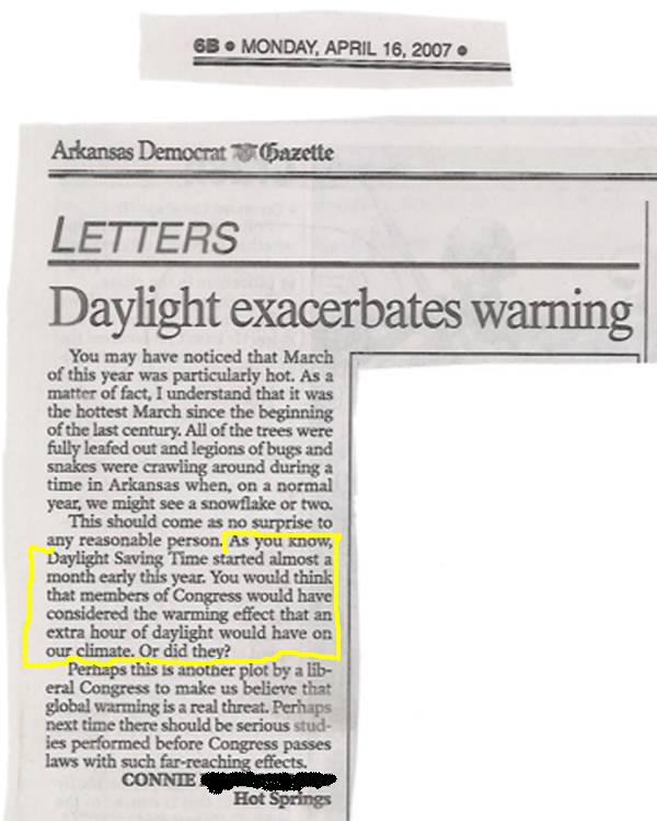 funny newspaper articles. This is article is too funny: