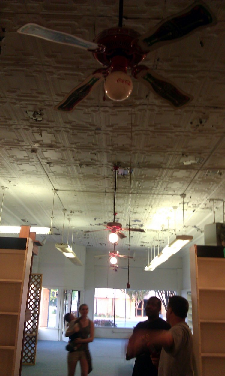 Antique Coca Cola Ceiling Fans