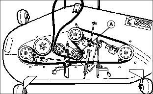 wiring diagram for a john deere stx46 with John Deere Belt Routig 377888 on 6pie4 Own John Deere Stx38 Yellow Deck Lawn Tractor Model Cv12 5s additionally 5obk0 Trying Convert 4020 John Deere Tractor 12 Volt System Can also T 240902 as well Kohler  mand 12 5 Electrical Diagram also 7nh8s Need Wiring Schematic Starting Charging System.