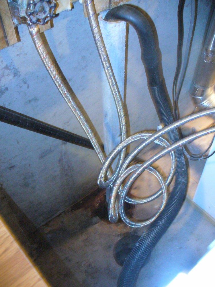 Replacing Galvanized Steel Drain Pipe