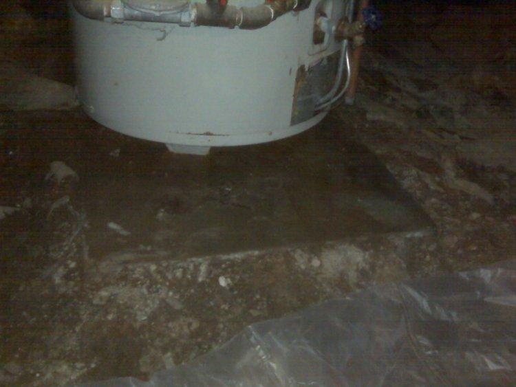 Apollo Hydroswirl 75 Gallon Gas Water Heater Leaking Replace