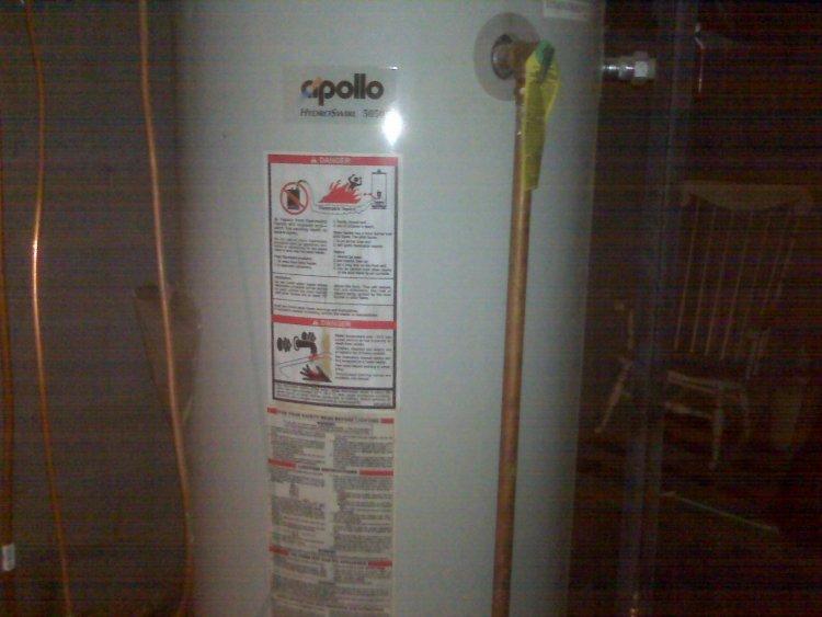 apollo hydro heat hot water heater