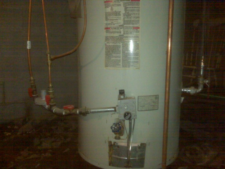 Apollo Hydroswirl 75 Gallon Gas Water Heater Leaking Replace