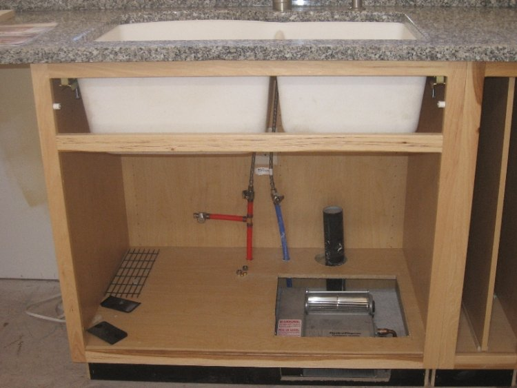 Disposer And Kitchen Sink Plumbing