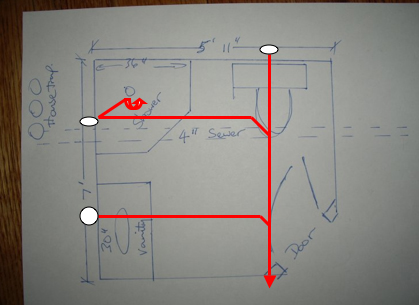 Bathroom Vents on Need A Riser Diagram For An Under Slab Bathroom   Ask Me Help Desk