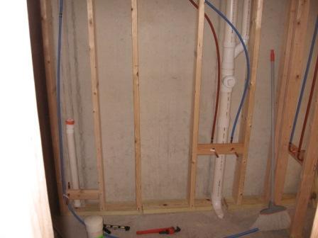 basement bathroom plumbing, Bathroom decor