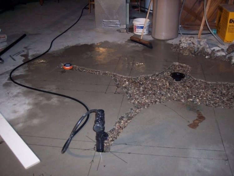 wet venting layout basement bathroom rough in