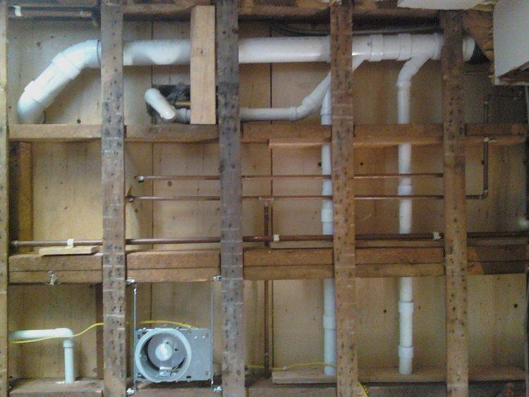 3rd Floor Bathroom Addition Plumbing Venting
