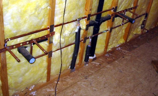 converting single sink vanity to double vanity plumbing