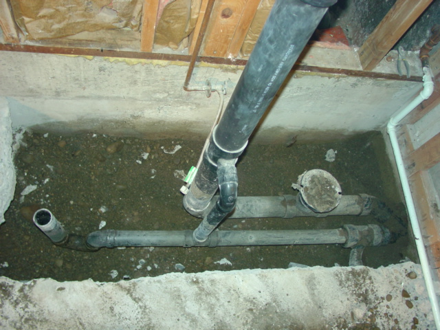 proper venting for basement shower and toilet