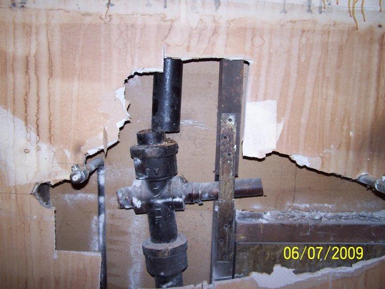 Waste Line Waste Line Basement Bring