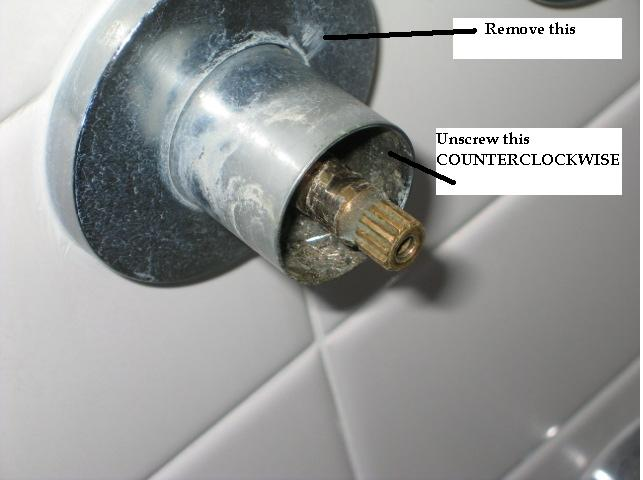 How To Remove Quot Stuck Quot Valve Stem From Shower Faucet