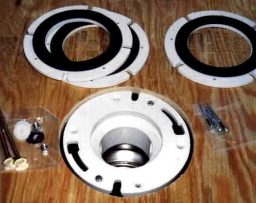 Connect Plastic Toilet Flange To Cast Iron Drain