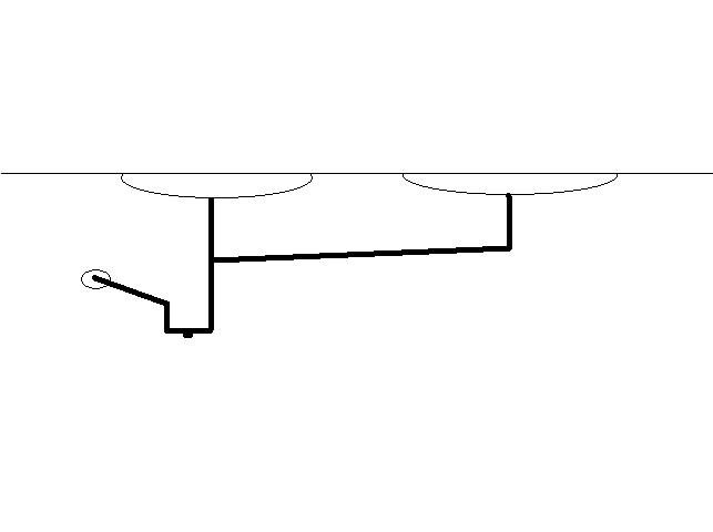 Need A Diagram Of Plumbing Under A Double Sink In My Kitchen