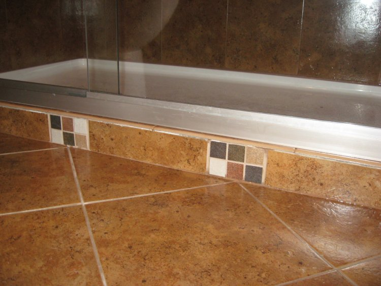 Replacing Tub With Walk In Shower Tub to shower conversion our