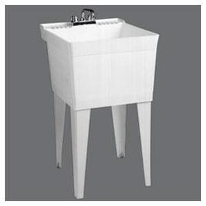 How do I install a laundry tub?