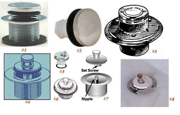 How. July 2013 Bathtub Drain Kohler Tub Drain Stopper Assembly Bing