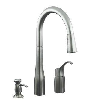 remove handle kohler k r648 single control kitchen sink faucet kohler