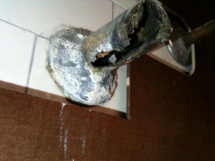 Sink Drain Pipe Corroded What Do I Do