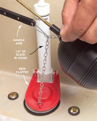 Toilet Flapper Chain