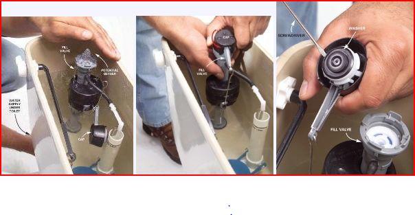 Repair Toilet Tank