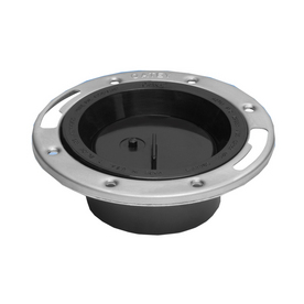 Abs Toilet Flange Integral Test Cap Removal