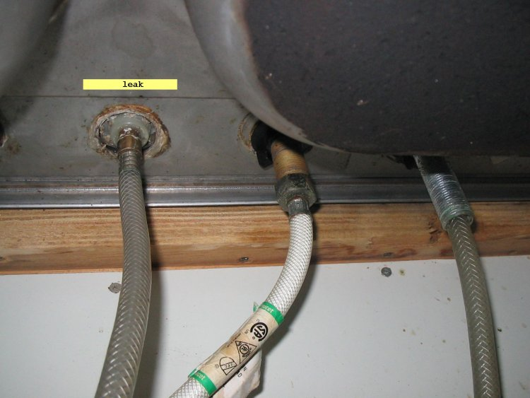 leaking faucet how to fix a leaky kitchen faucet quicklyjpg apps
