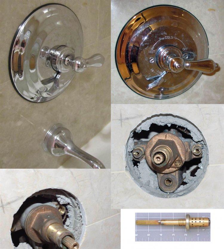 symmons or harden shower valve help - Shower Faucet Repair