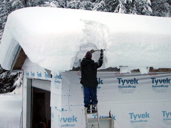 Frozen vents possible cure for Snow loads on roofs