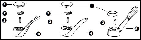 how to remove single handle on moen kitchen faucet