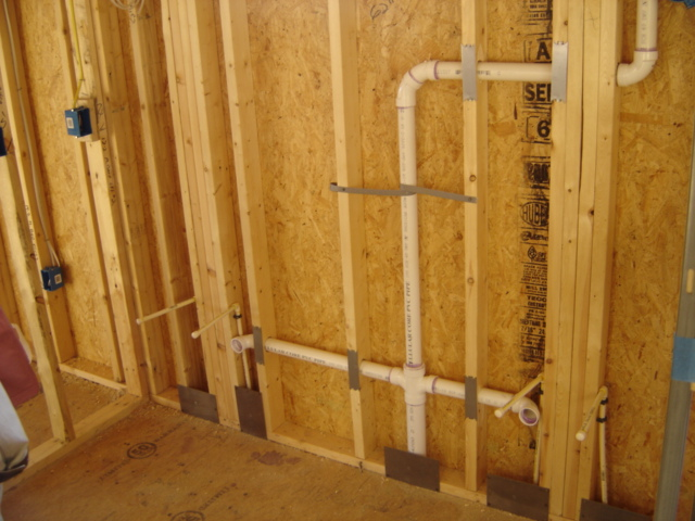 How to run the drain to a second sink added next to existing sink community for Double bathroom sink plumbing