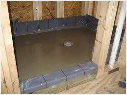 Shower Pan Cement Board Installation