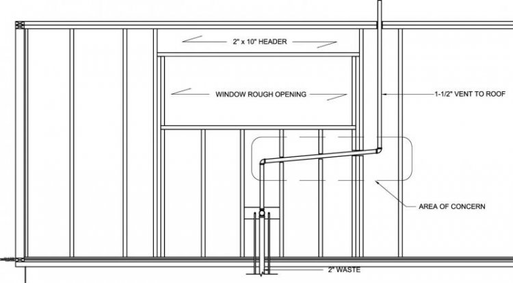 Kitchen sink drain plumbing diagrams pipe kitchen free engine image for user manual download - Vent kitchen sink ...