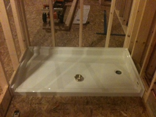 Installing Pre Formed Shower Base Pan