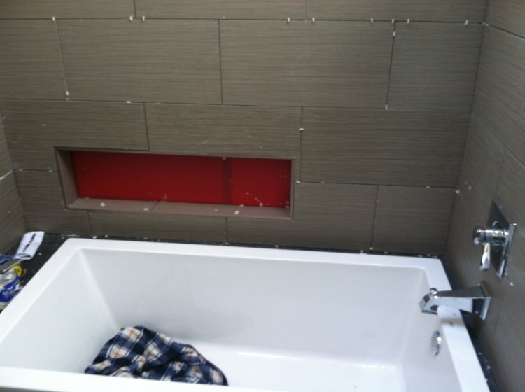 Drop in tub shower combo disaster waiting to happen for Drop in bathtub shower combo