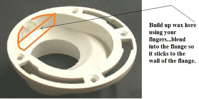 Installing Toilet On Offset Flange