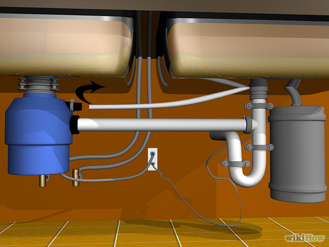 How To Plumb A Double Kitchen Sink With Disposal