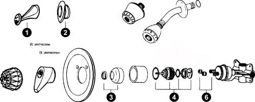 leaking delta shower faucet cleandus - Shower Faucet Repair
