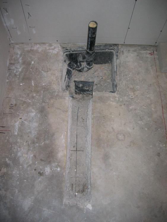 Floor drain for shower