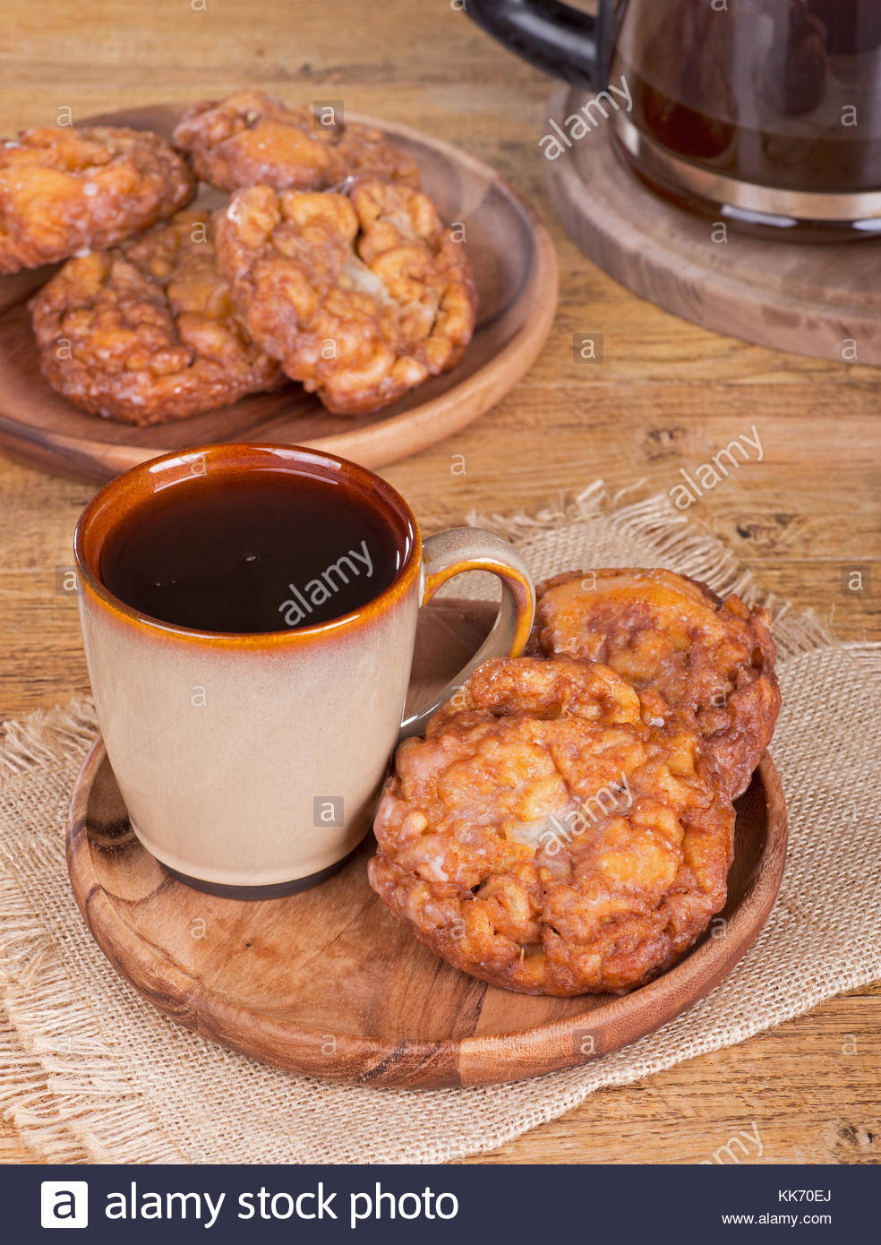 Name:  glazed-apple-fritters-and-cup-of-coffee-on-a-wooden-plate-KK70EJ.jpg