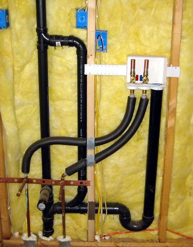 Utility Sink Drain - into washer drain