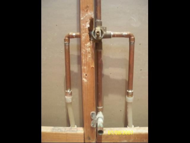 Image gallery shower manifold - How to run plumbing collection ...