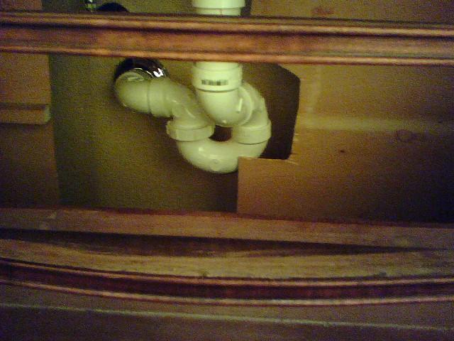 Installing taller vanity in bathroom - Page 2