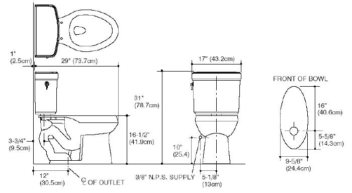 standard toilet dimensions from wall. Plumbing Wall Dimensions Submited Images Toilet From  home decor Laux us